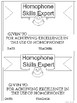 Homophone Task Cards for Intermediete Grades