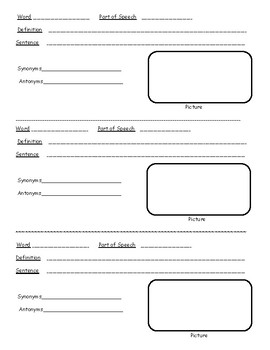 Updated Homophone Trios - Worksheets, Definitions, Drawing, Matching, and More!