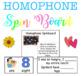 Homophone Unit- Powerpoint & 3 Centers