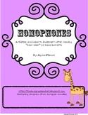 Homophone Unit