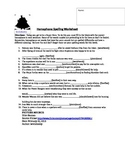 Homophone Worksheet