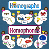 Homophone and Homograph Boards