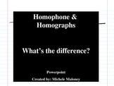 Homophone and Homograph PPT