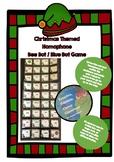 Homophone bee bot game - Christmas theme