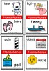 Homophone flashcards