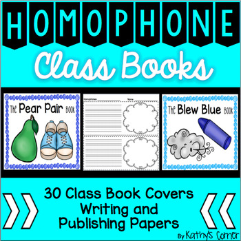 Homophone of the Week Class Books