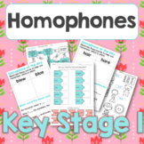 Homophone of the day PLUS mixed activities set 1