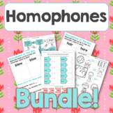 Homophone of the day and mixed activities BUNDLE