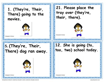 Homophones #1 (English)