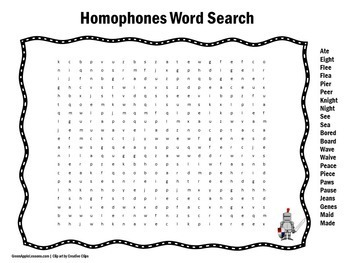 Homophones Worksheet | Homophones Activity