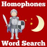 Homophones Worksheet Activity
