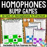Homophones Activity: 12 Homophones Games (Bump!)