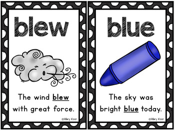 Homophone Printable Activities