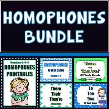 Homophones Bundle - 35% Savings!