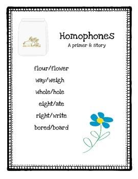 Homophones: A primer & story