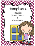 Homophones Activity Book