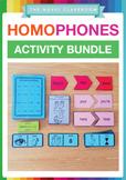 Homophones Activity Bundle