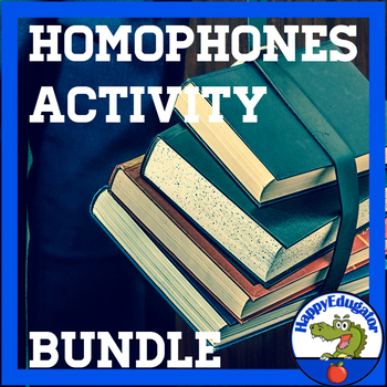 Homophones Activity Bundle