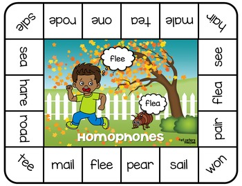 Homophones Board Game