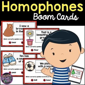 Homophones Boom Cards