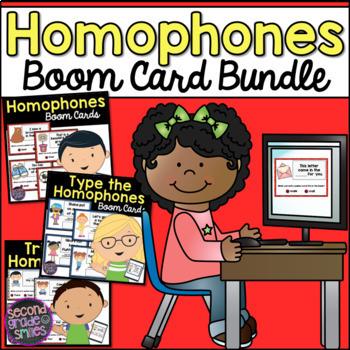 Homophones Boom Cards Bundle