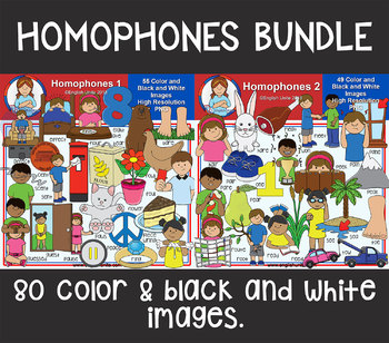 Clip Art - Homophones Bundle