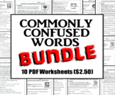 Homophones Bundle: Commonly Confused Words Series