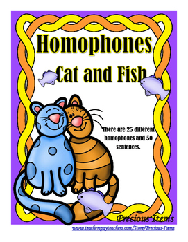 Homophones - Cat and Fish
