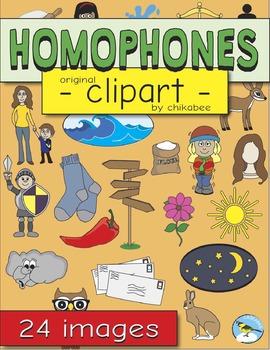 Homophones Clip Art