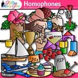 Homophone Clip Art: ELA Graphics {Glitter Meets Glue}