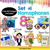 Homophones Clipart Set 1