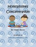 Homophones Concentration