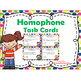 Homophones - Context Clues - Antonyms - Synonyms Task Card BUNDLE