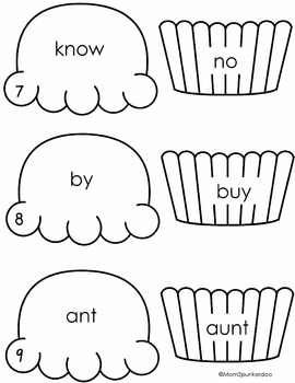 Homophones Review Activity and Matching Game