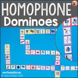 Homophones Dominoes Matching Game