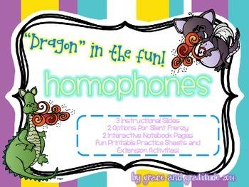 "Homophones: ""Dragon"" in the Fun!"