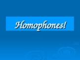 Homophones English Functional Skills GCSE