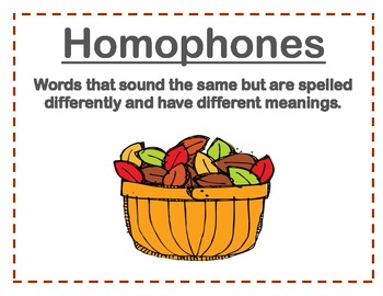 Homophones Everywhere!!!!!!