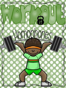 Homophones Exercise Stations