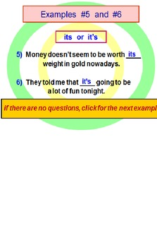 Homophones FREE Powerpoint Preview