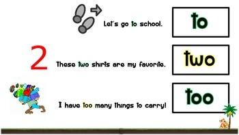 Homophones - Features, Flashcards, Activities & Worksheets