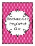 Homophones Game Using Context Clues