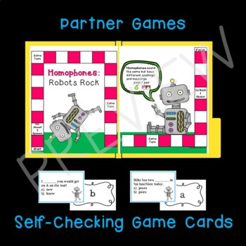 Homophones:  Games, Puzzles, and More