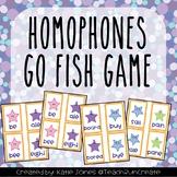 """Homophones """"Go Fish"""" game"""