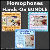 Homophones Word Sort Bundle