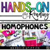 Homophones {Hands-on Reading}