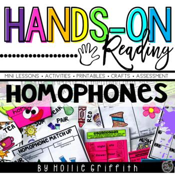 Homophones {Hands-on Reading}