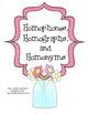 "Homophones, Homographs, and Homonyms - 3 ""Lift the Flap"" Books"