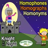 Homophones, Homographs and Homonyms Comprehensive Unit