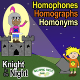 Homophones, Homographs and Homonyms Comprehensive Unit